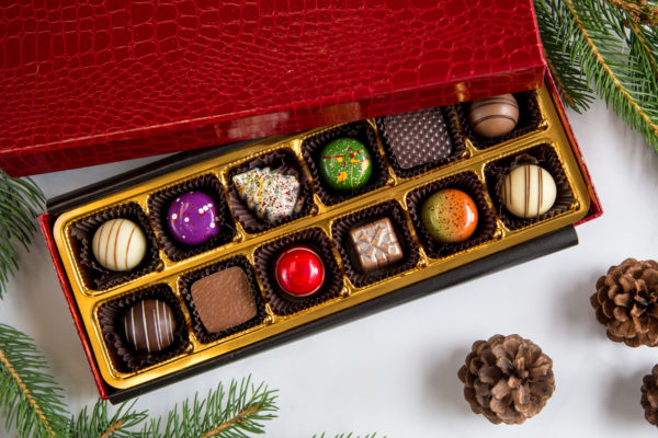 Red Croc Illusion Chocolate Collection 12-Count