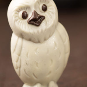Winter Owl Sculpture