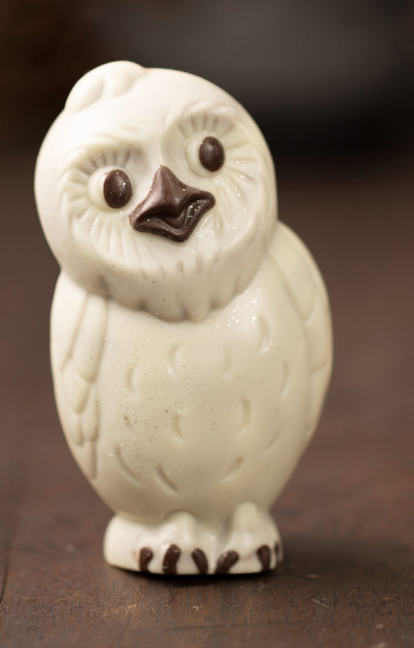 Winter Owl Sculpture