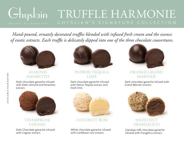 Ghyslain's Truffle Harmonie Collection
