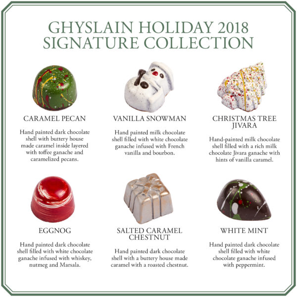 Ghyslain Signature Holiday Chocolate Collection