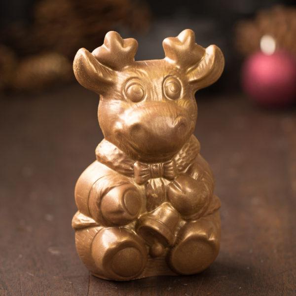 Ghyslain Chocolate Moose Sculpture