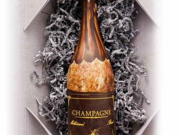 Grand Champagne Chocolate Sculpture & Box
