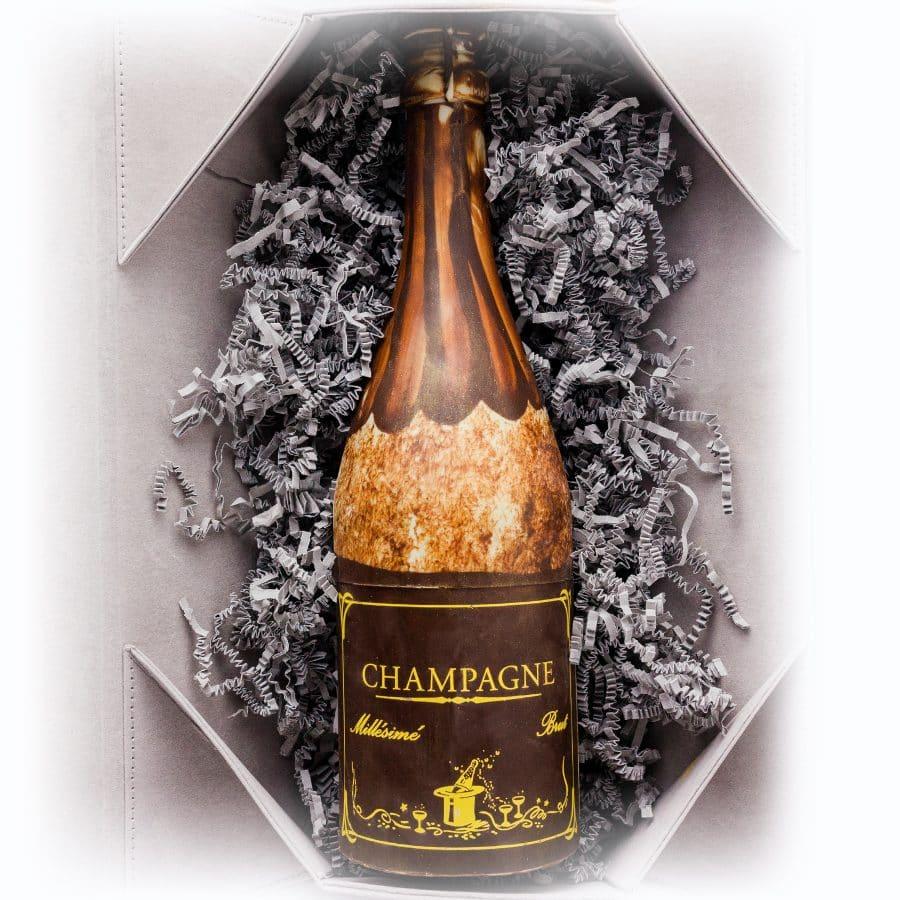 Grand Champagne Chocolate Sculpture & Box