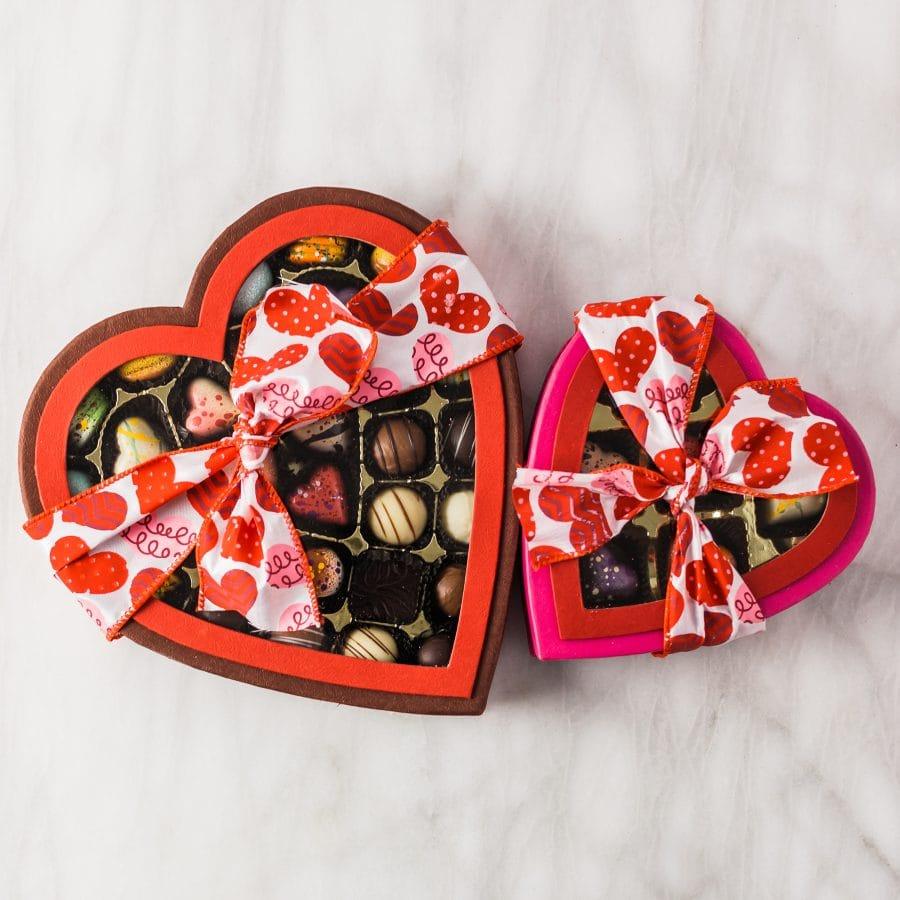 Cocoa Passion Heart Box Collection