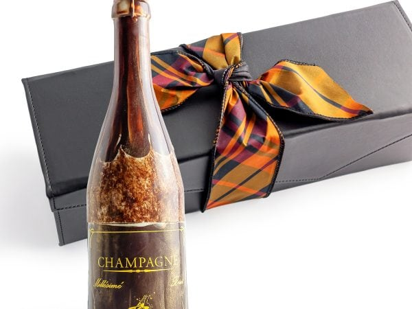 Chocolate Champagne Bottle Gift Box