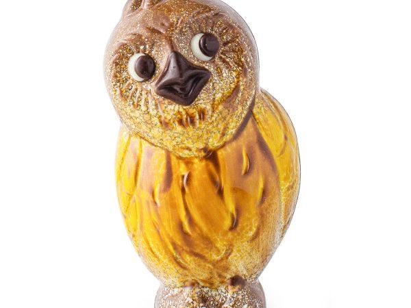 Ghyslain Chocolate Owl Sculpture