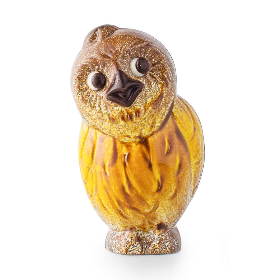 Ghyslain Chocolate Owl Sculpture