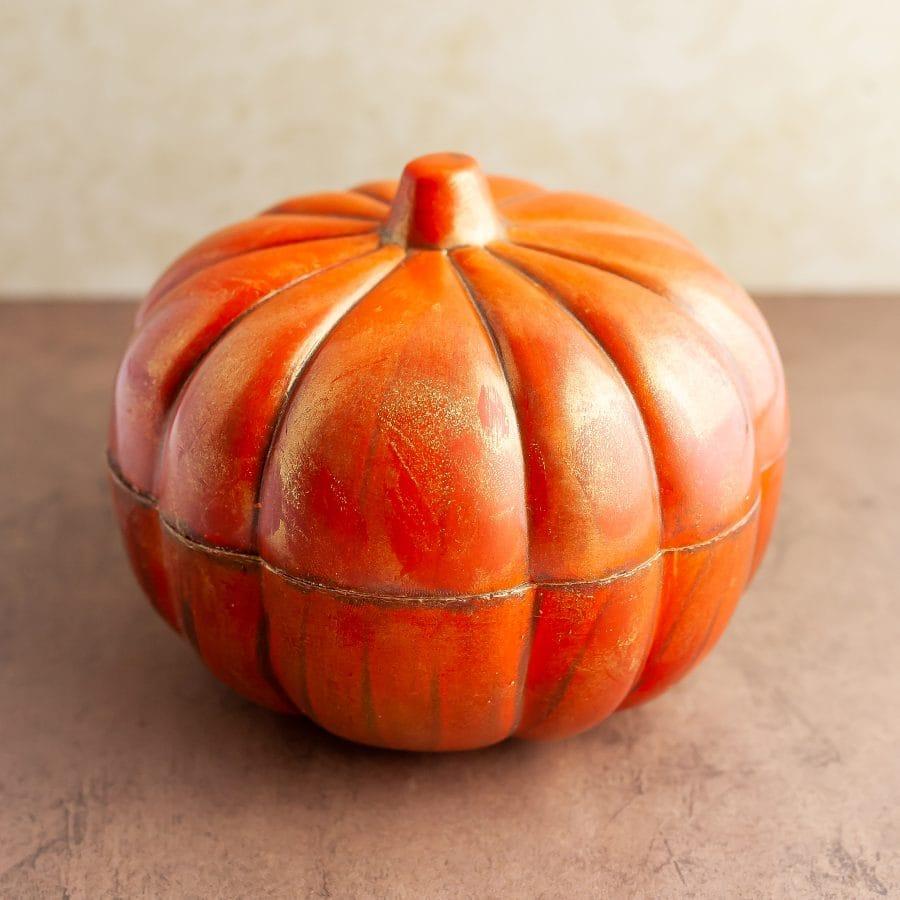 Ghyslain Chocolate Pumpkin Sculpture