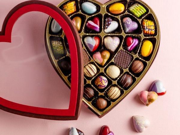 Cocoa Passion Heart Box