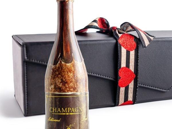 Valentine Grande Champagne Bottle
