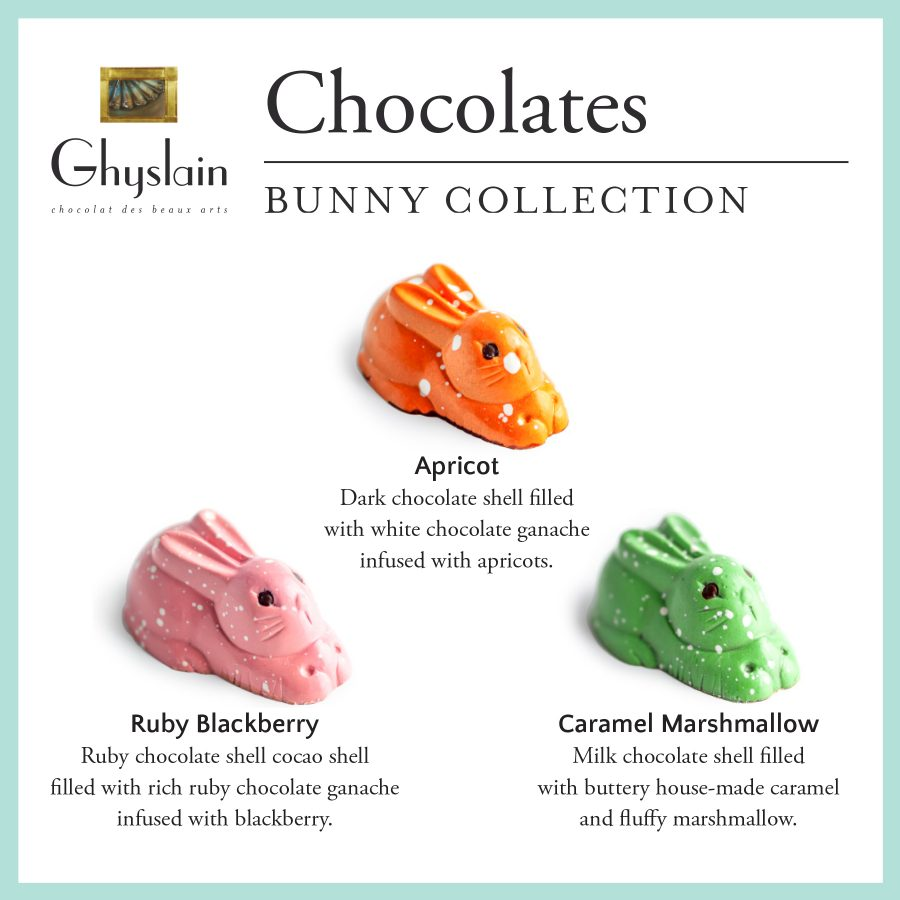 Ghyslain's Chocolate Bunny Collection